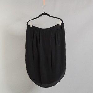 [madewell] silk skirt